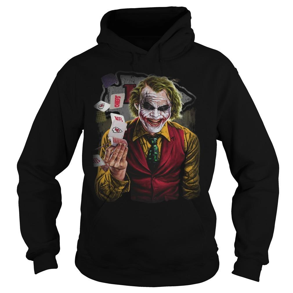 Kansas City Chiefs Poker Joker Hoodie