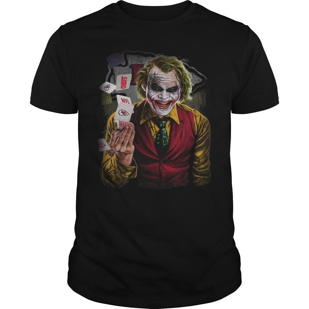 Kansas City Chiefs Poker Joker Shirt