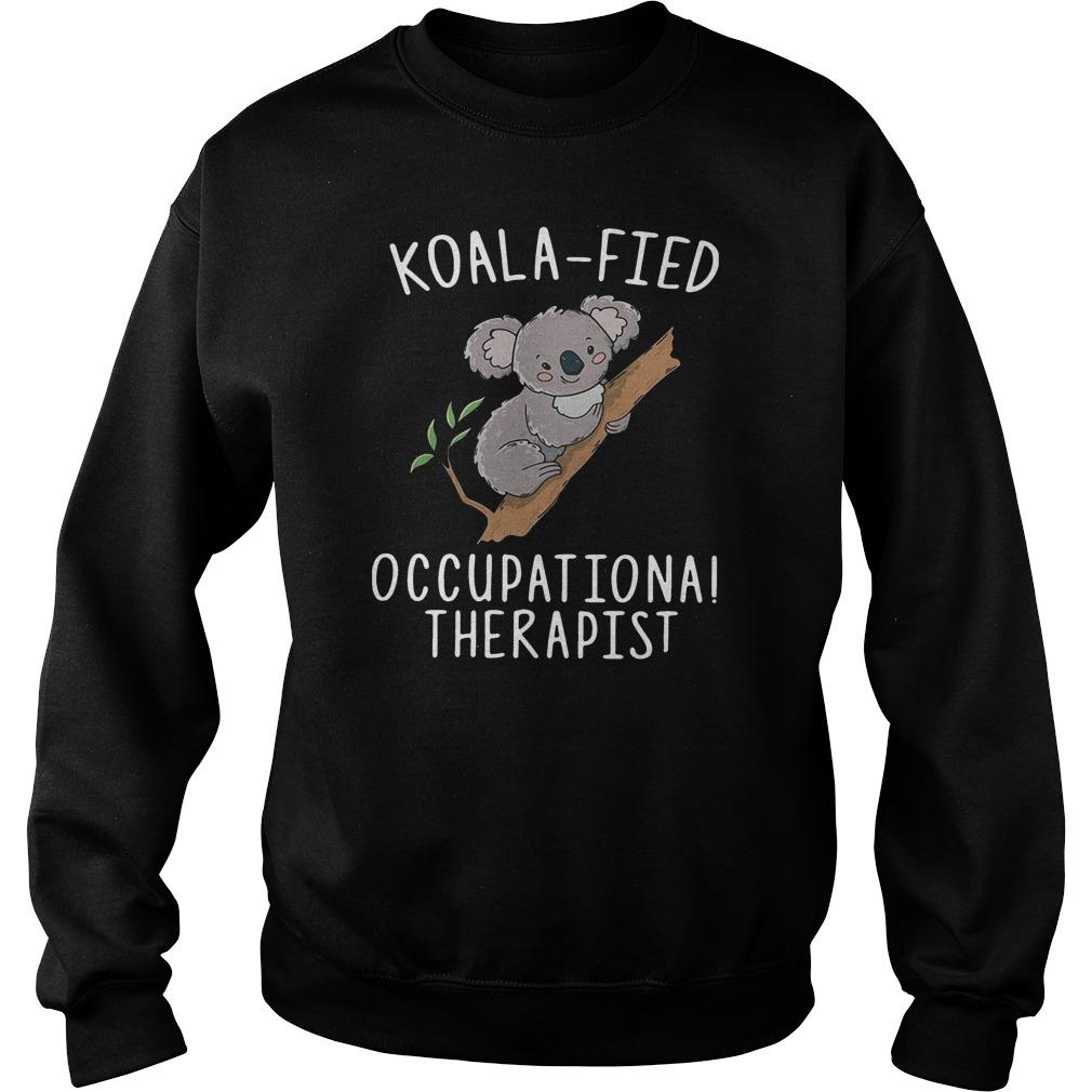 Koalafied Occupational Therapist Sweater