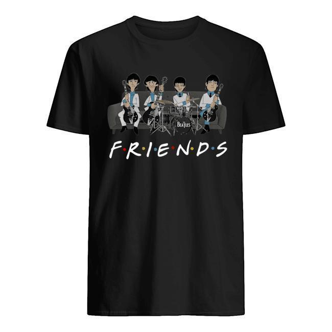 The Beatles Tv Show Friends Shirt