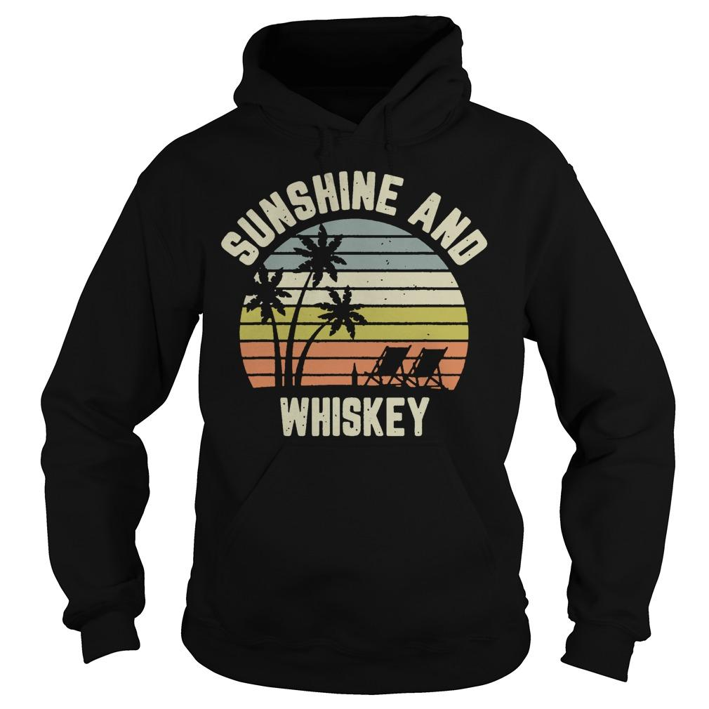 Vintage Sunshine And Whiskey Hoodie