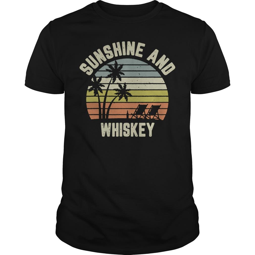 Vintage Sunshine And Whiskey Shirt