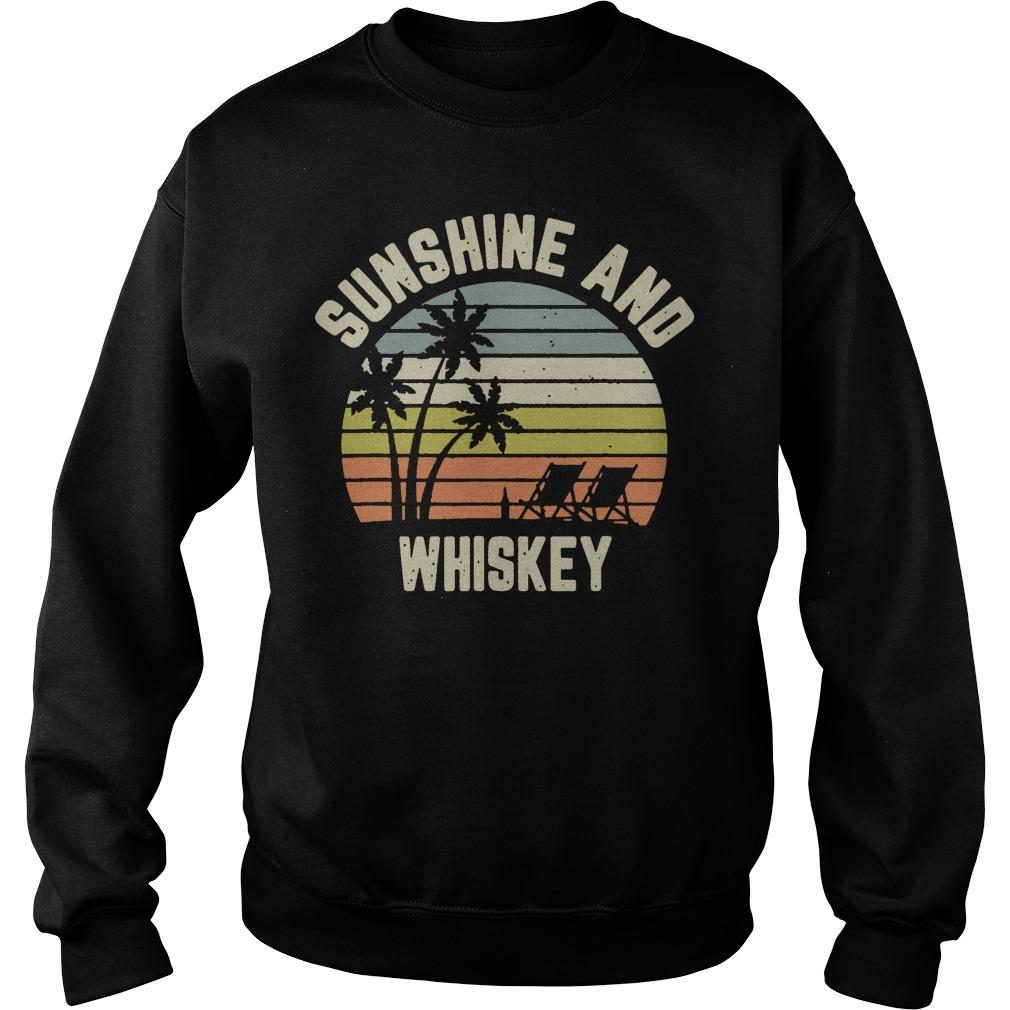 Vintage Sunshine And Whiskey Sweater