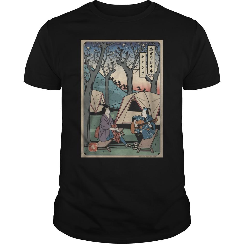 Camping Samurai Shirt