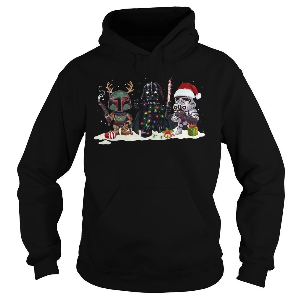 Christmas Star Wars Baby Darth Vader Hoodie