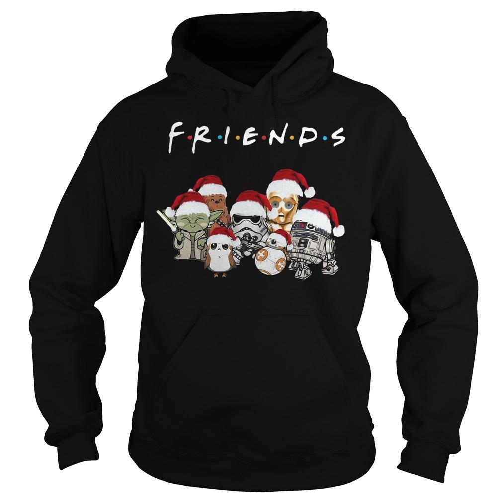 Christmas Star Wars Friends Hoodie
