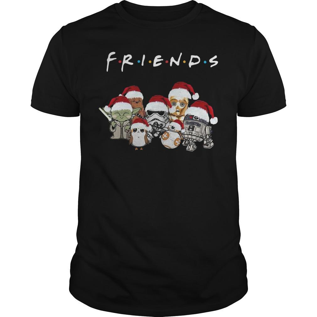 Christmas Star Wars Friends Shirt