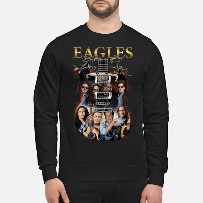 Guitar Eagles Signatures Shirt