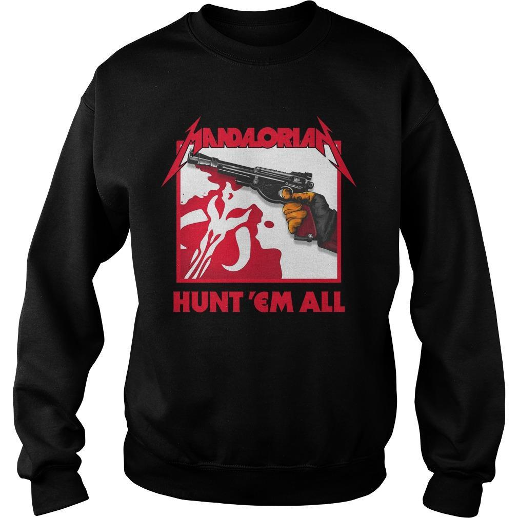 Mandalorian Hunt 'em All Sweater