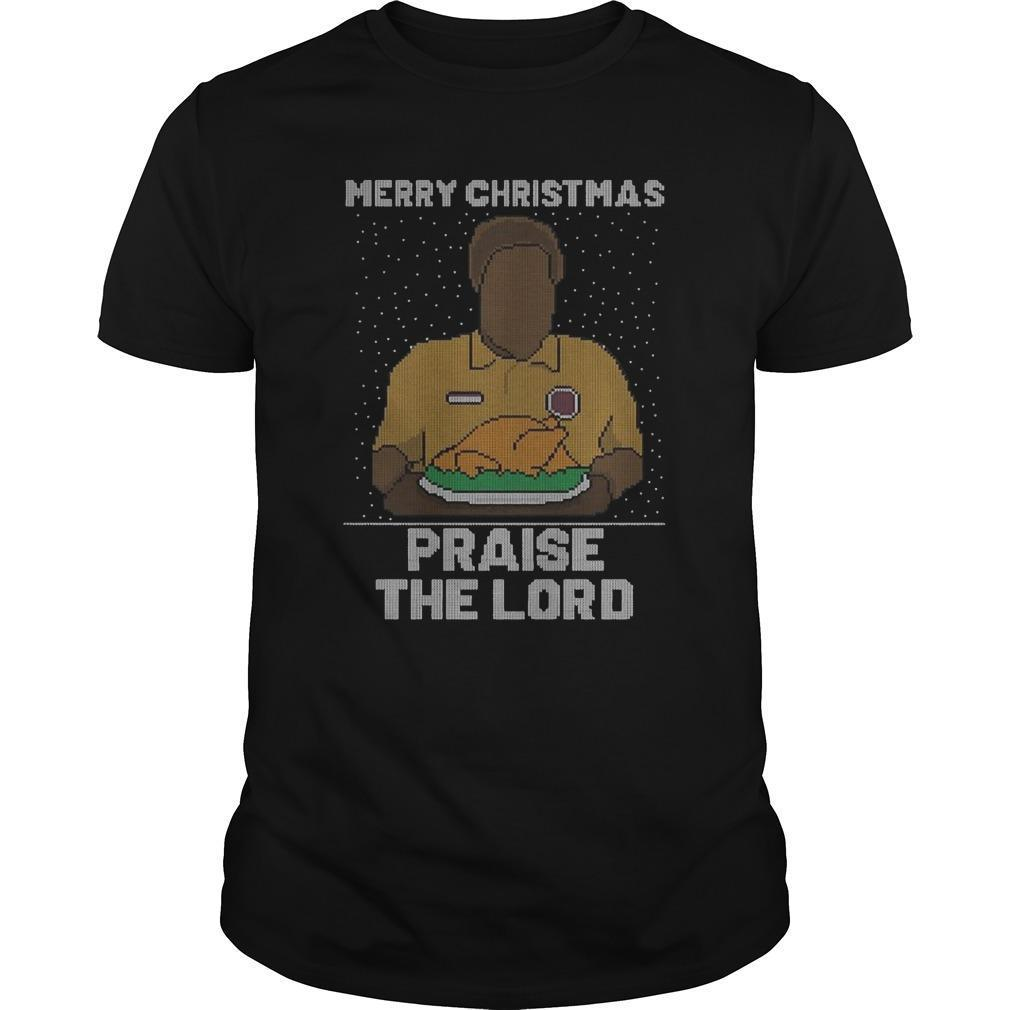 Merry Christmas Praise The Lord Shirt