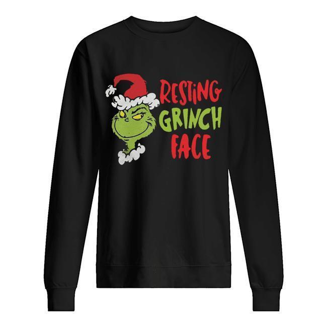 Resting Grinch Face Sweater