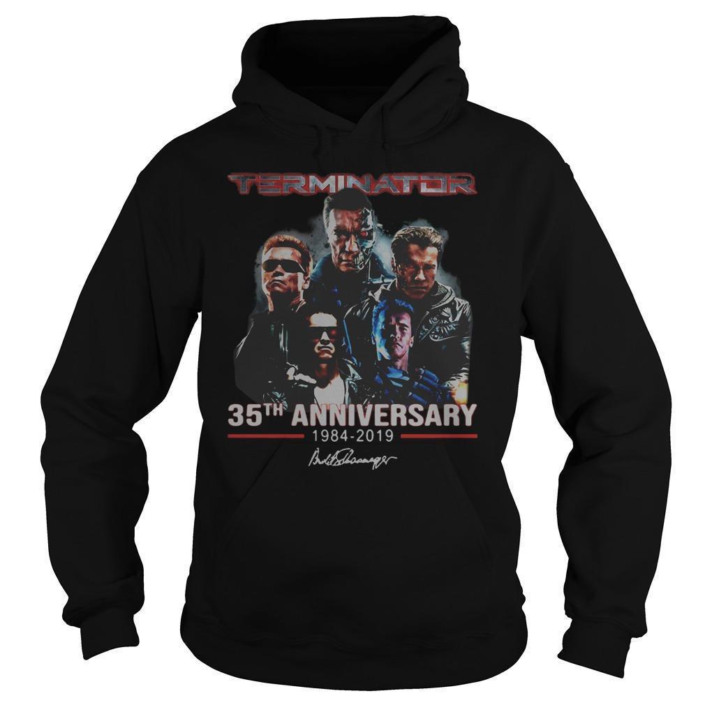 Terminator 35th Anniversary 1984 2019 Signature Hoodie