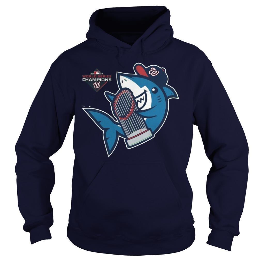 Washington Nationals Baby Shark Hoodie