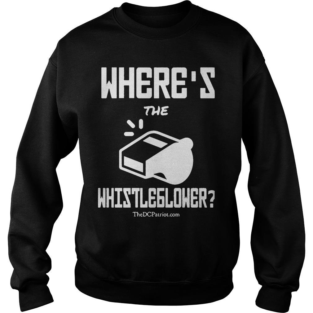 Where's The Whistleblower Sweater