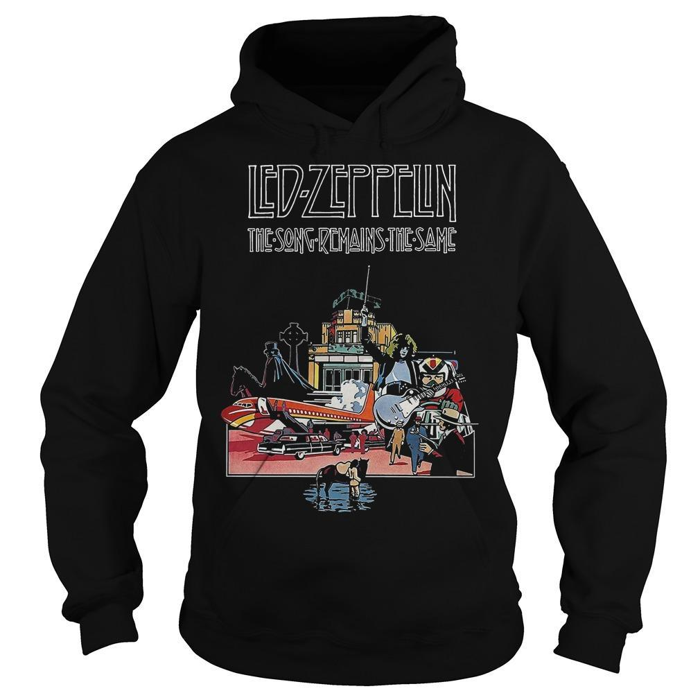 Led Zeppelin The Song Remains The Same Hoodie