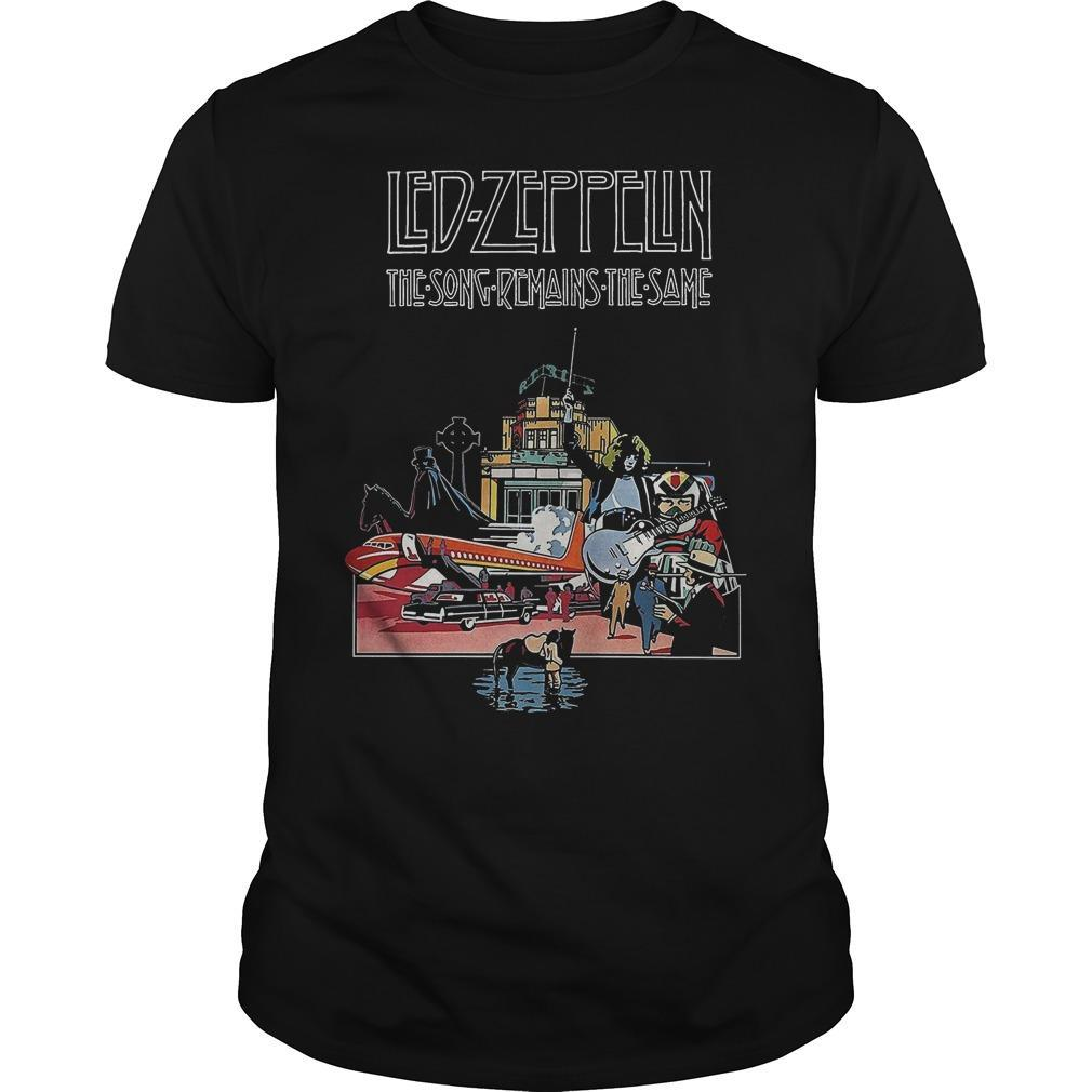 Led Zeppelin The Song Remains The Same Shirt