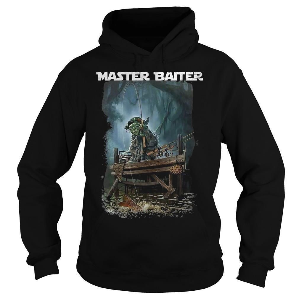 Master Yoda Fishing Master Baiter Hoodie