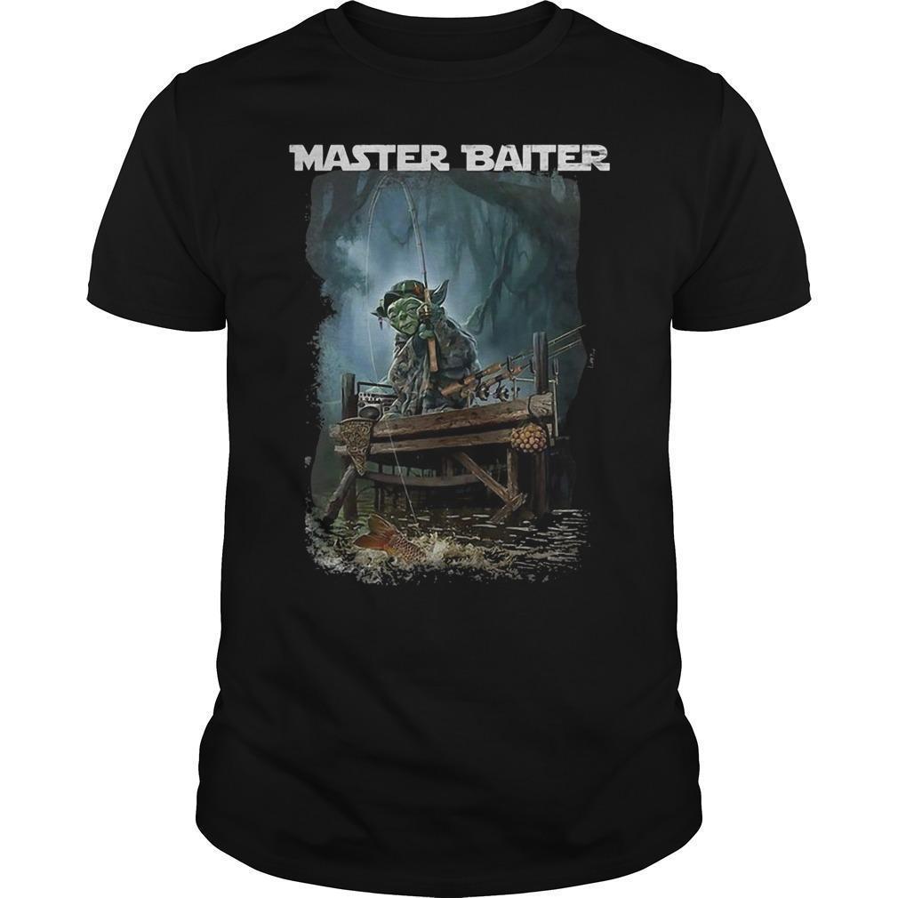 Master Yoda Fishing Master Baiter Shirt