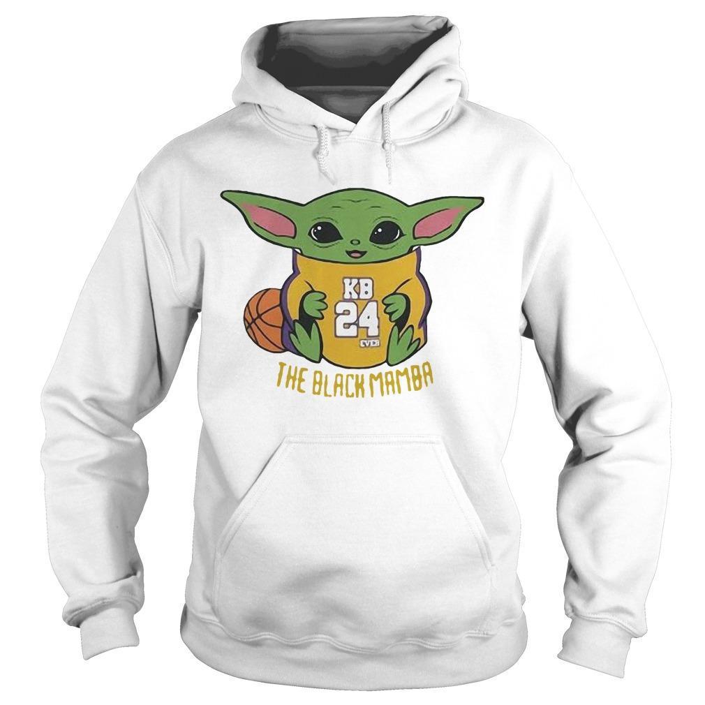 Baby Yoda Kobe Bryant The Black Mamba Hoodie