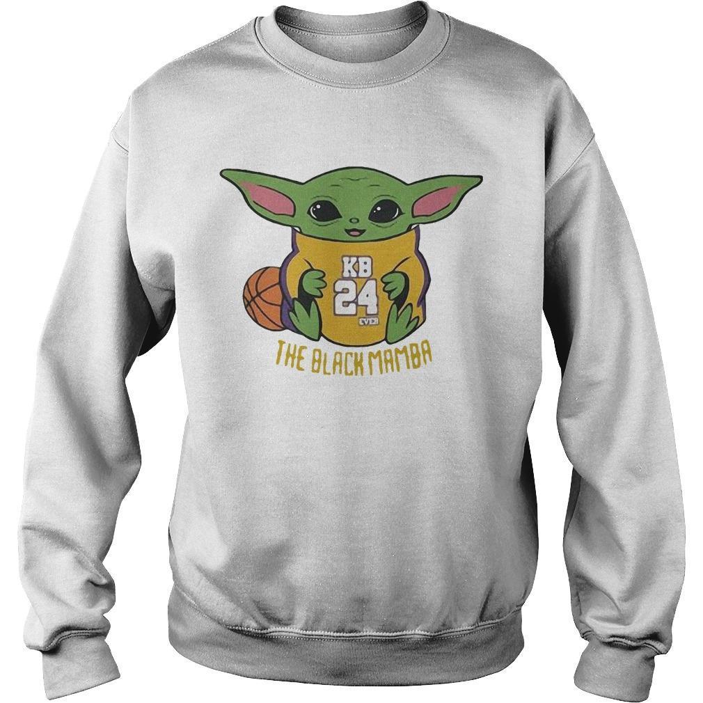 Baby Yoda Kobe Bryant The Black Mamba Sweater