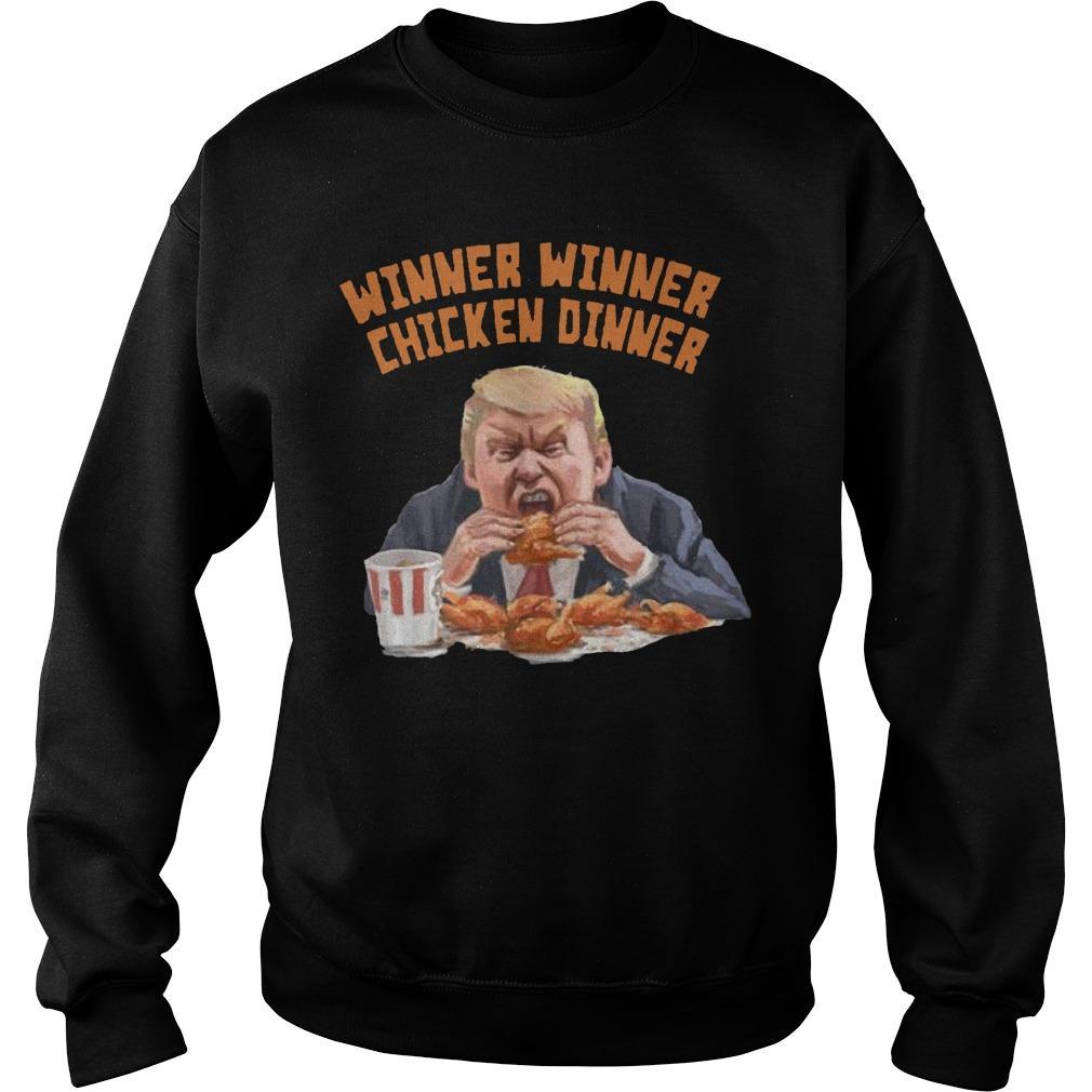 Donald Trump Winner Winner Chicken Dinner Sweater