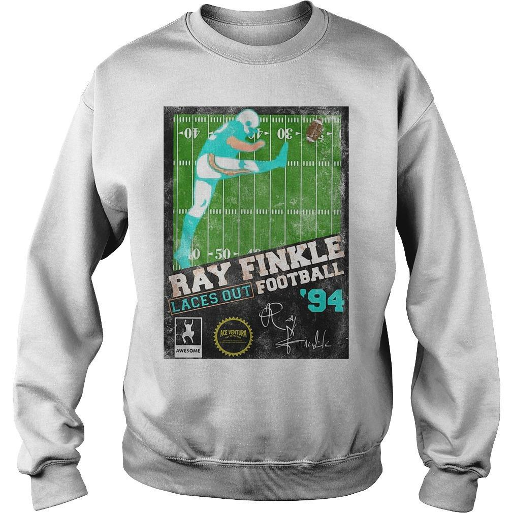 Ray Finkle Laces Out Football Signature Sweater