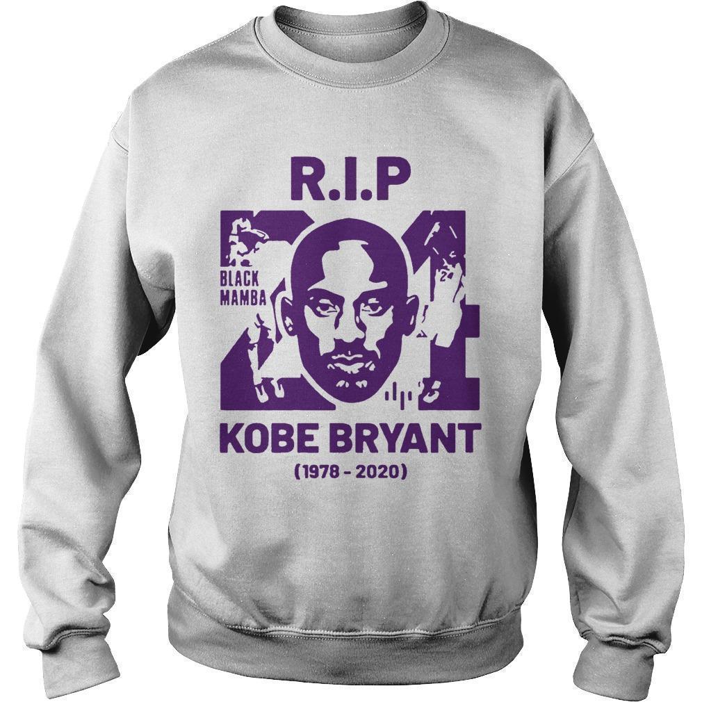 Rip Kobe Bryant 24 Black Mamba 1978 2020 Sweater