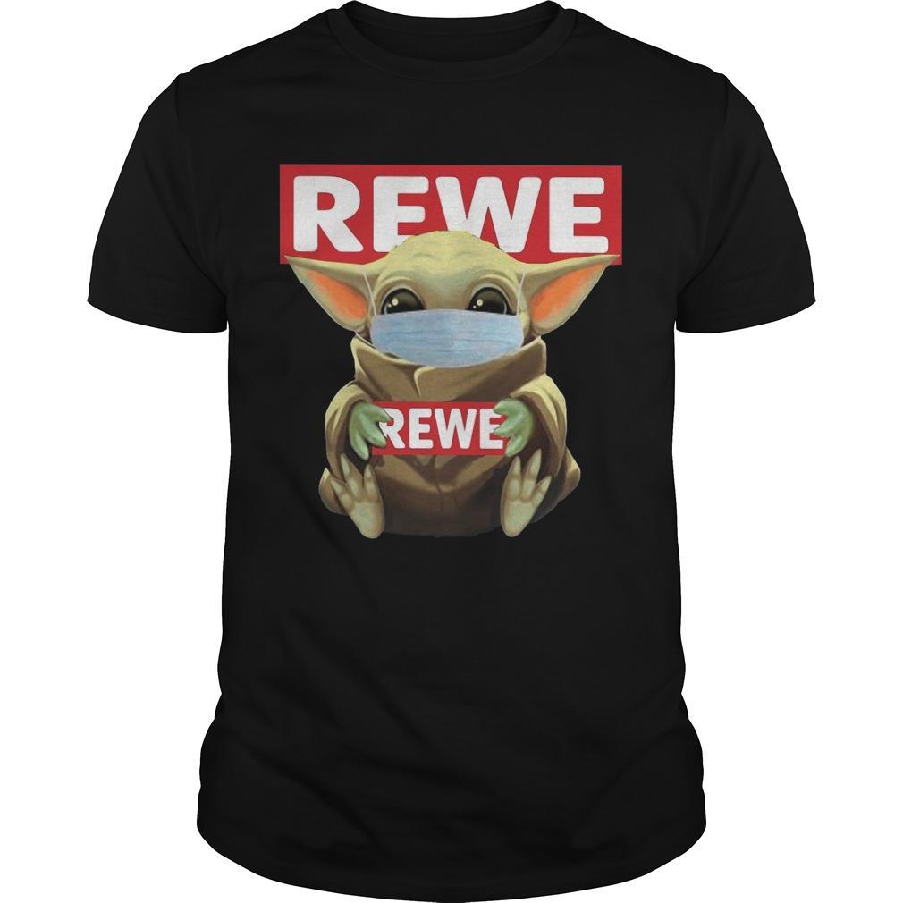 Baby Yoda Mask Rewe Shirt