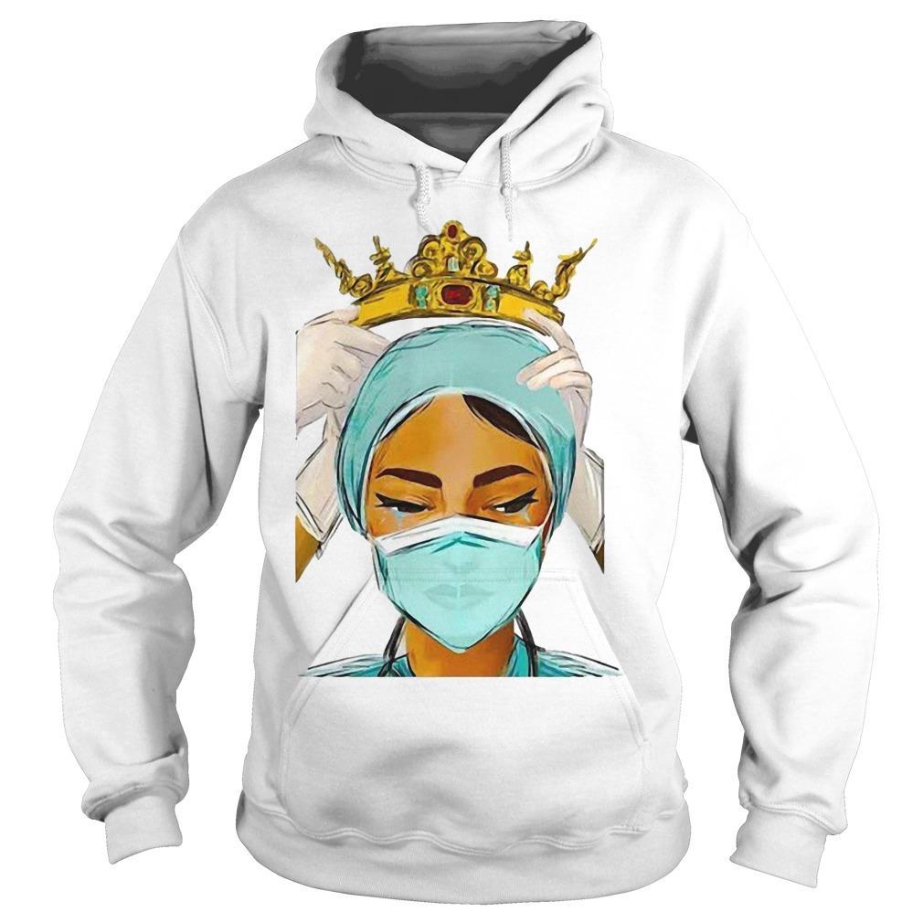 Crown Queen Nurse Hoodie