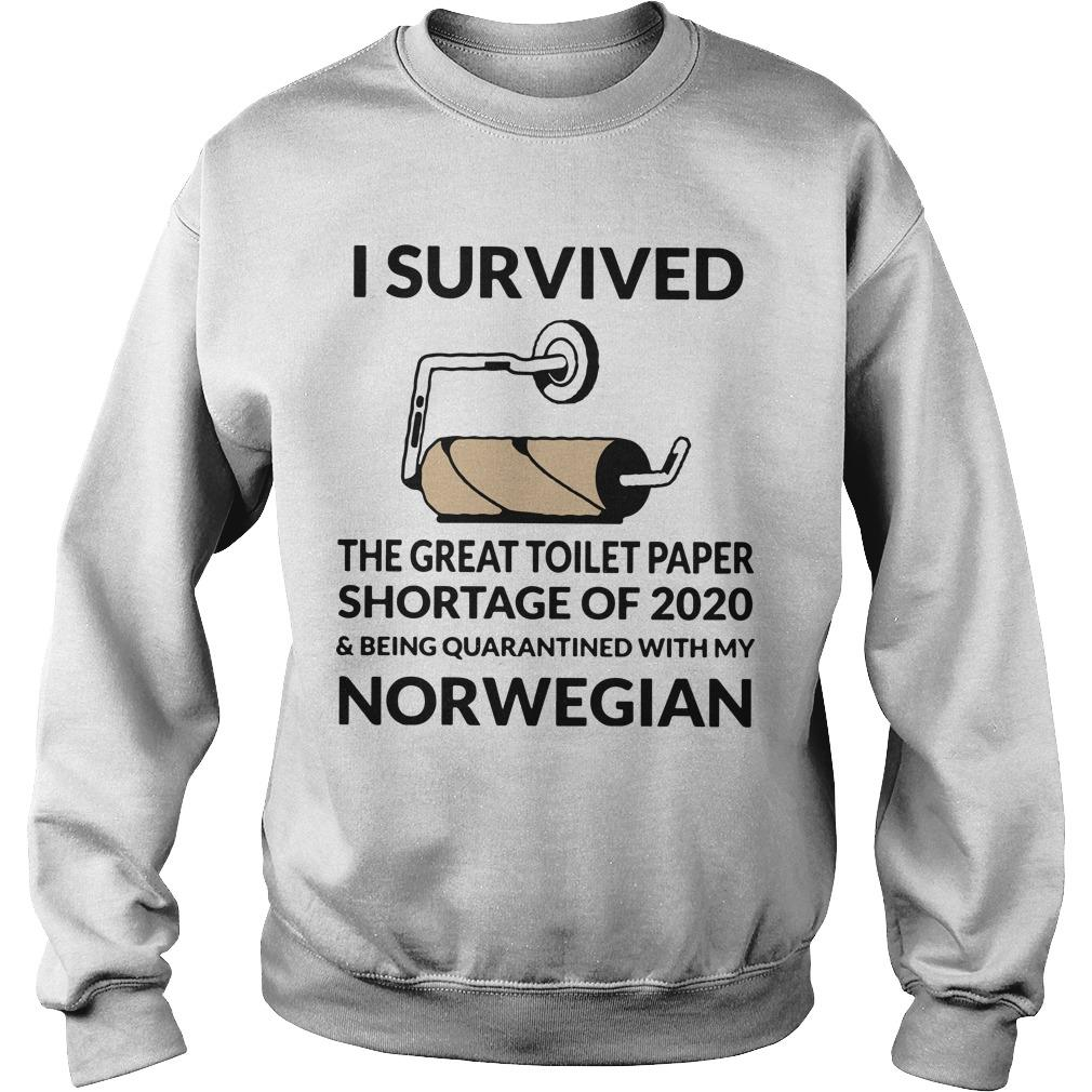 I Survived The Great Toilet Paper Shortage Of 2020 And Quarantined With Norwegian Sweater