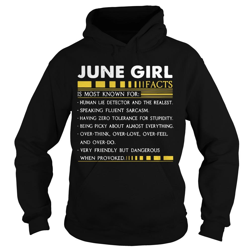 June Girl Facts Is Most Known For Human Lie Detector And The Realest Hoodie