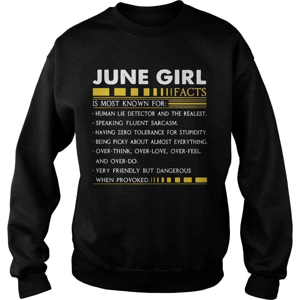 June Girl Facts Is Most Known For Human Lie Detector And The Realest Sweater