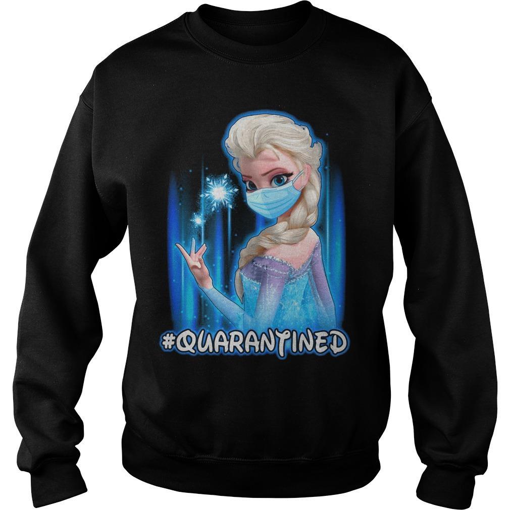Mask Elsa #quarantined Sweater