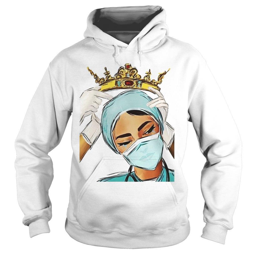 Nurse Wearing The Crown Hoodie
