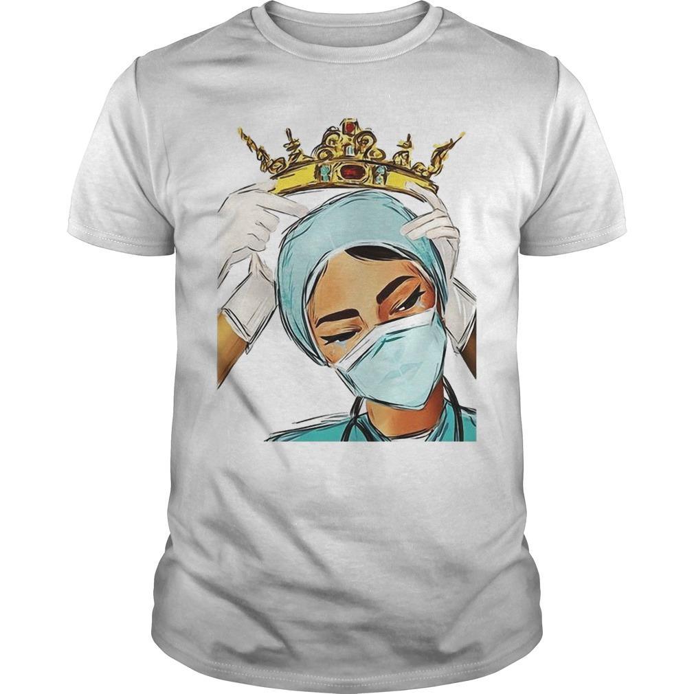 Nurse Wearing The Crown Shirt