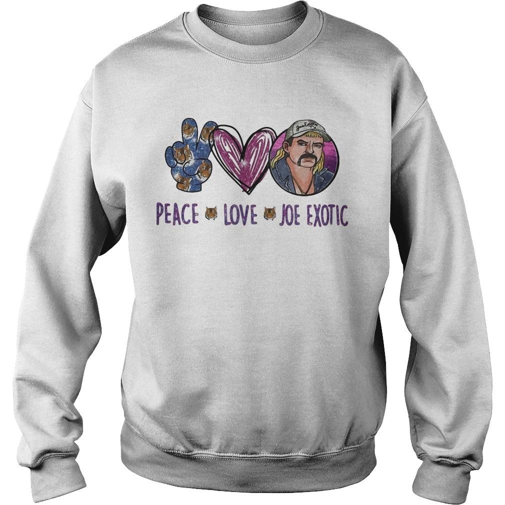 Peace Love Joe Exotic Sweater
