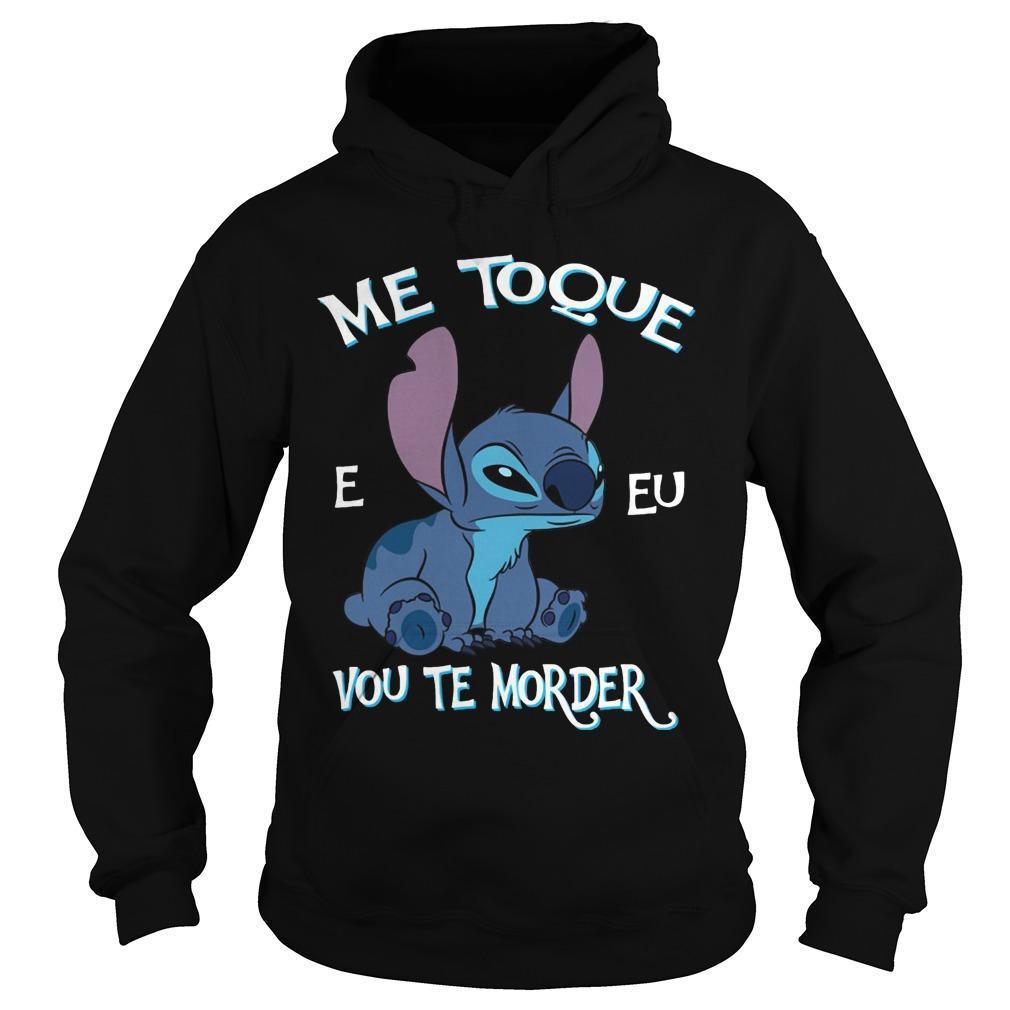 Stitch Me Toque E Eu Vou Te Morder Hoodie