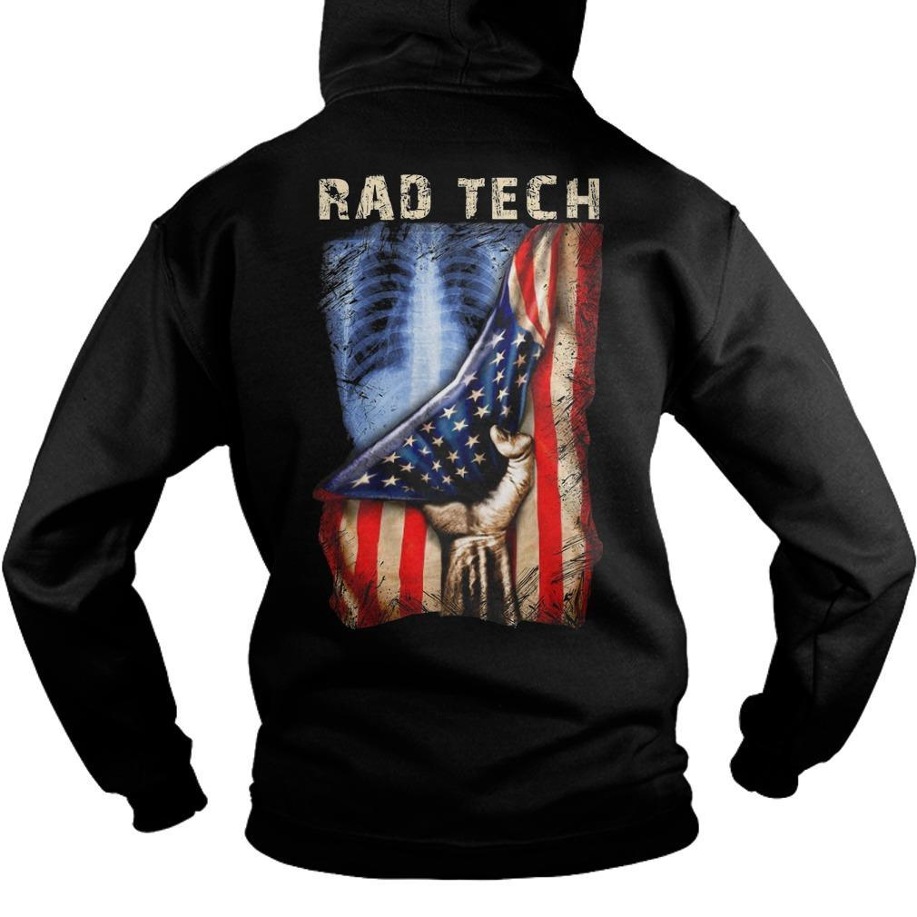 American Flag Rad Tech Hoodie