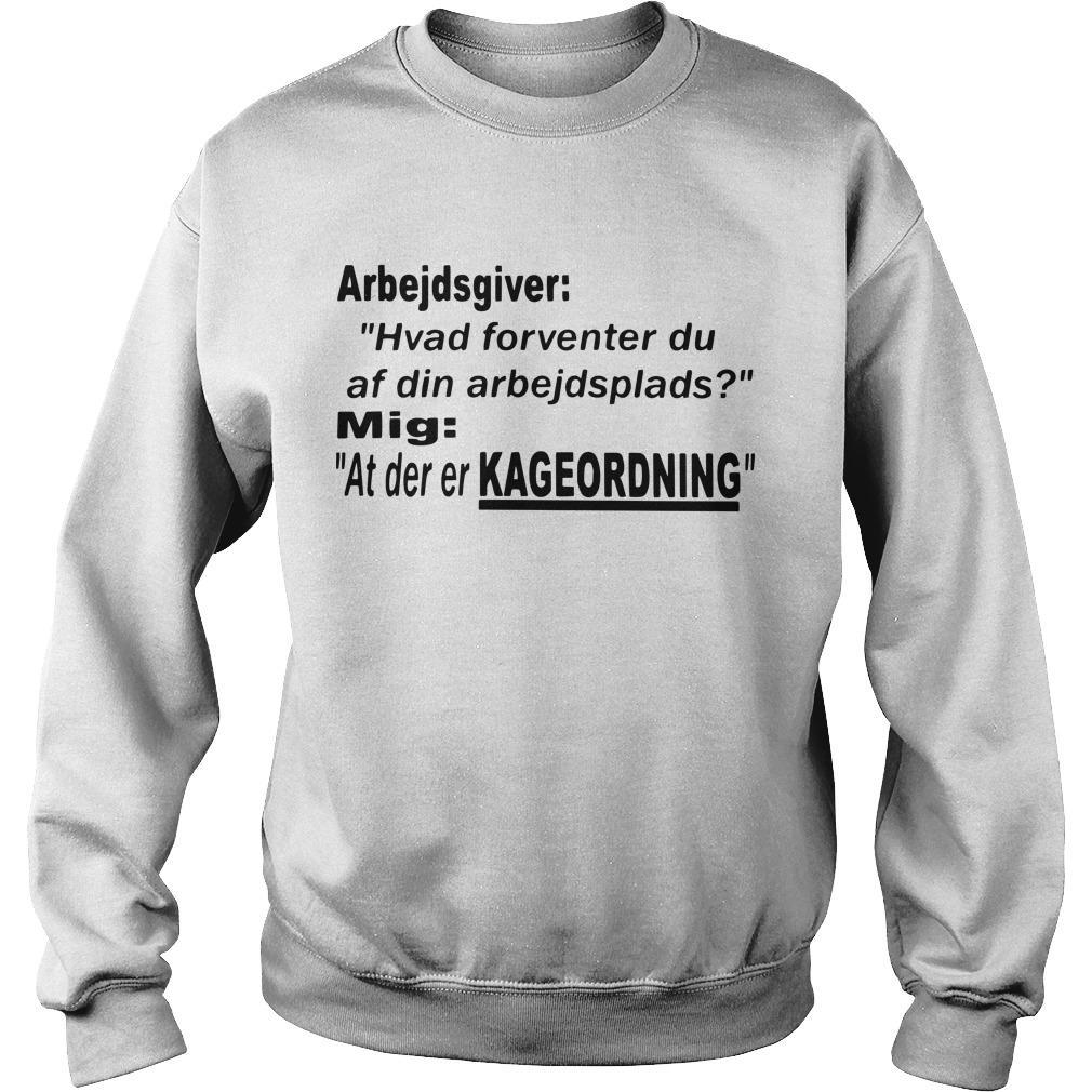 Arbejdsgiver Hvad Forventer Du Af Din Arbejdsplads Sweater