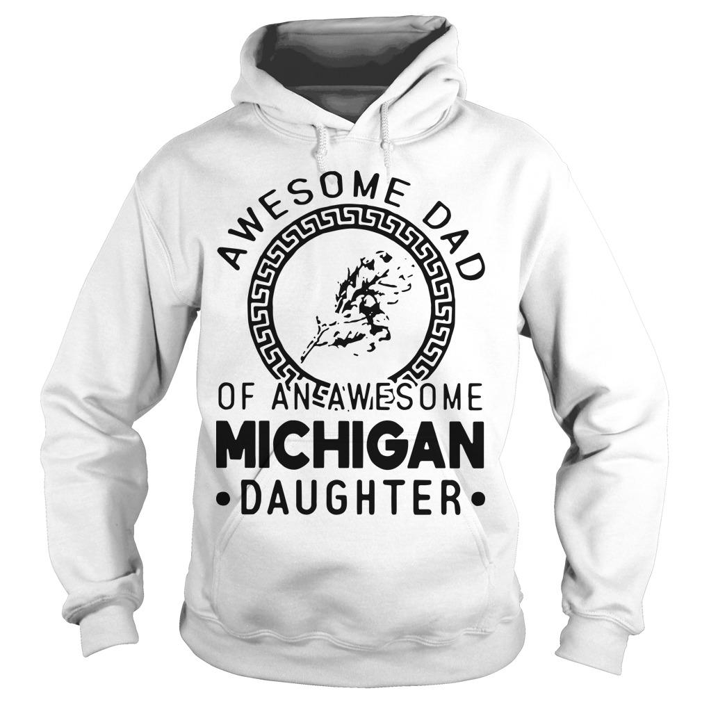 Awesome Dad Of An Awesome Texas Daughter Hoodie