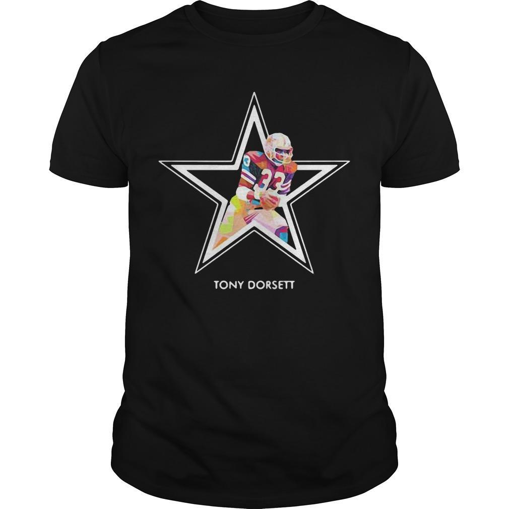Dallas Cowboys Football Art Tony Dorsett Shirt
