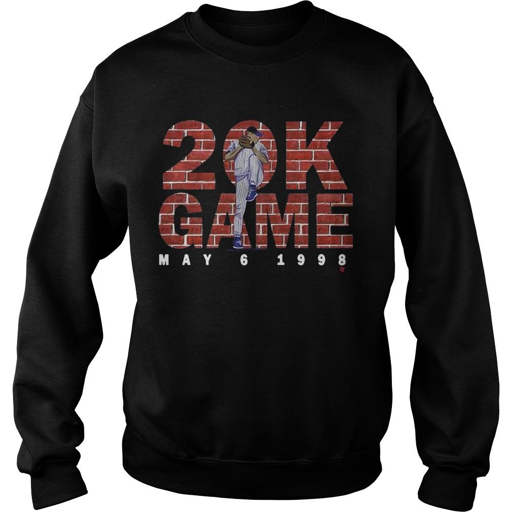Kerry Wood 20 K Game Sweater