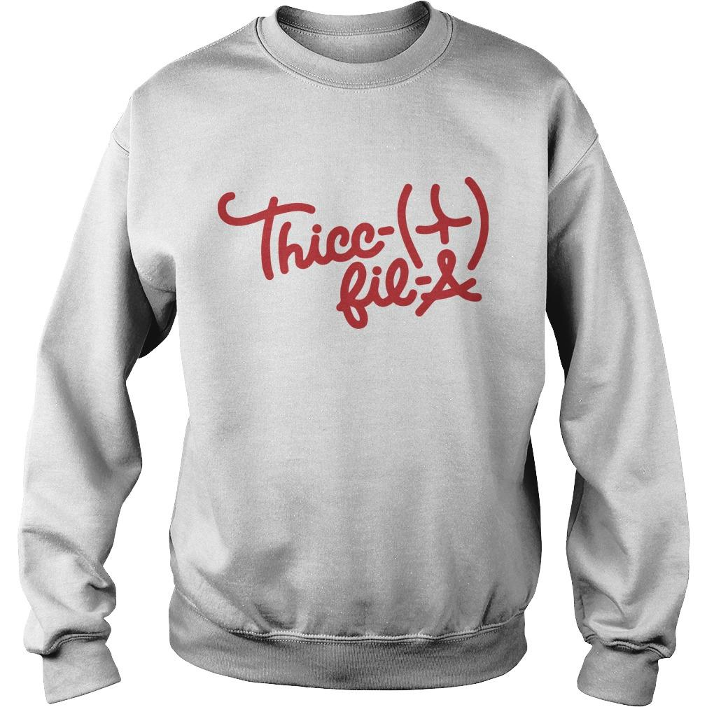 Thicc Fil A Sweater