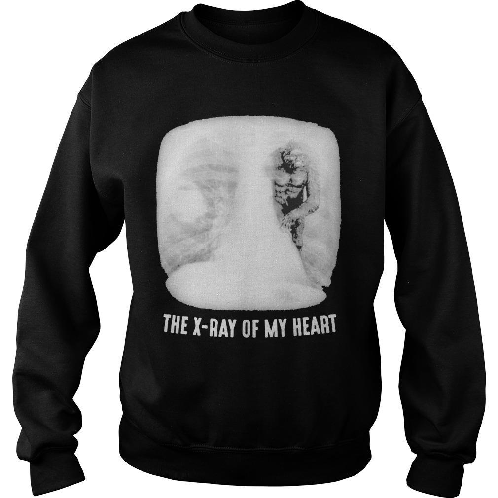 Bigfoot The X Ray Of My Heart Sweater