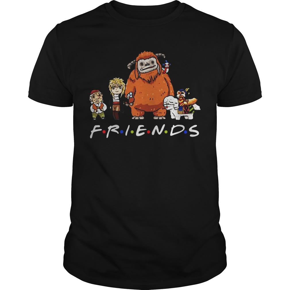 Labyrinth Characters Worm Ludo Hoggle Friends Shirt