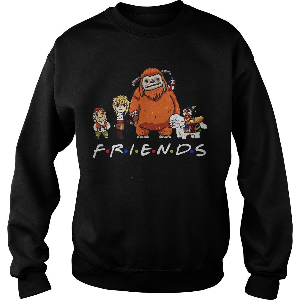 Labyrinth Characters Worm Ludo Hoggle Friends Sweater