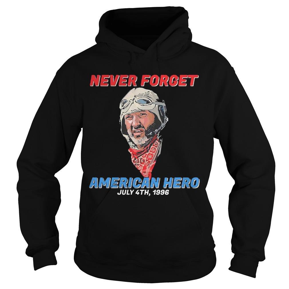 Patriotic Never Forget American Hero July 4th 1996 Hoodie