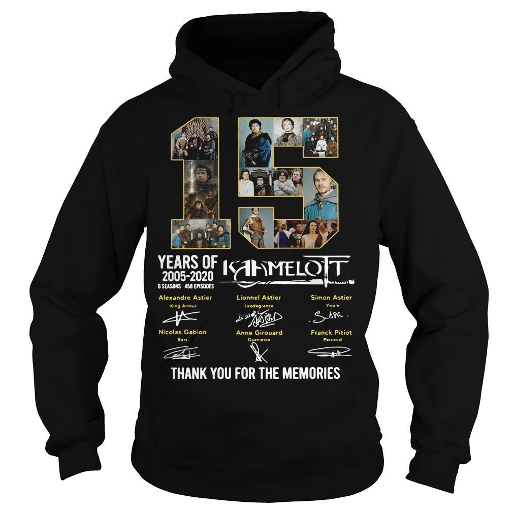 15 Years Of Kaamelott 2005 2020 Thank You For The Memories Signature Hoodie