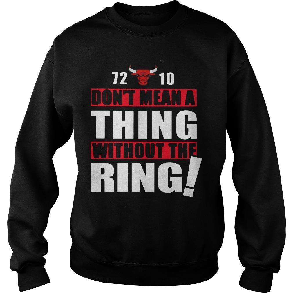 72 10 Don't Mean A Thing Without The Ring Sweater