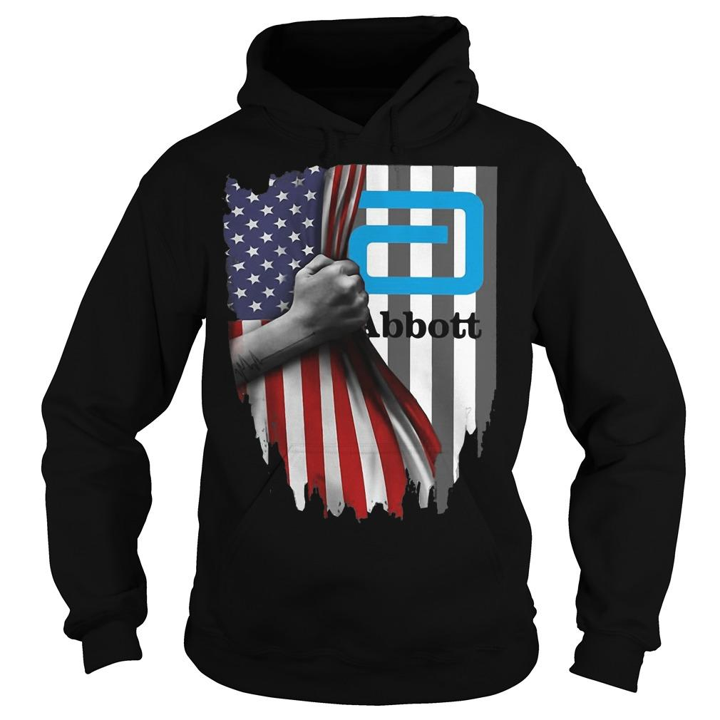 American Flag Independence Day Abbott Hoodie